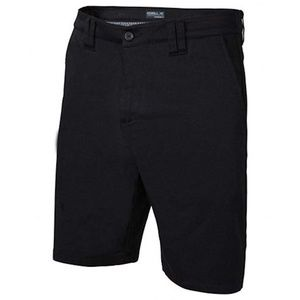 Oneill Black Contact Stretch Casual Walk Shorts